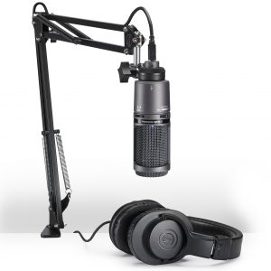 Audio Technica AT2020USB+PK Vocal Microphone Pack