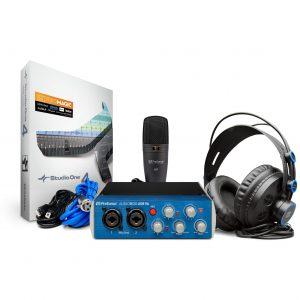 Presonus AudioBox USB 96 Complete Hardware / Software Recording-Podcasting Kit